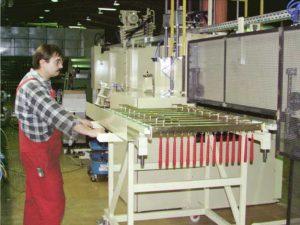 Máquina de barnizado LM