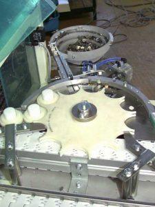 Wick inserting machine EM-V