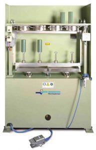 Dispositivo vertical EGA-V igualando superficies y añadiendo perfiles por medio de fusión
