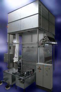 Powder spraying chamber PSK