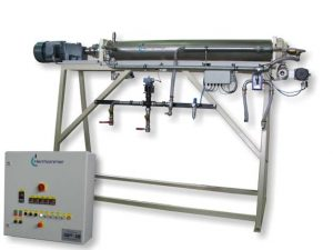 Scraper chiller HSK with control unit