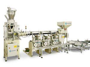 Produktionslinie für 25.000 Teelichte / Stunde