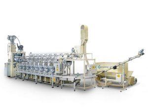 Produktionslinie für 75.000 Teelichte / Stunde