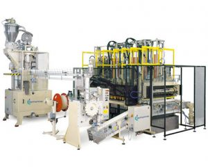 Rotary press plant with FTM