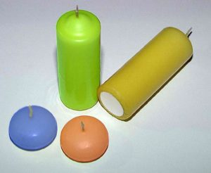 Floating candles and votives