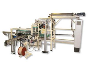 Cyclic conveyor chain filling line TKF with scraper chiller HSK