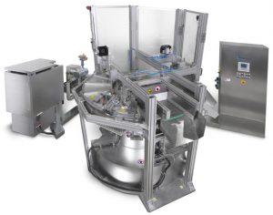 Rundlaufgießmaschine für Wachsstifte mit Katalyt