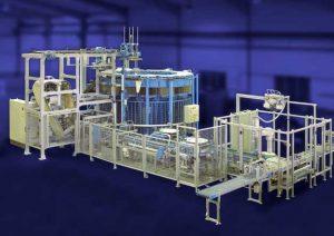 Rotary molding machine RGM